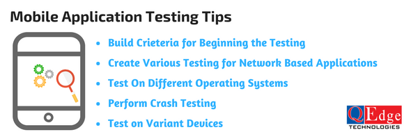 mobile application testing tips
